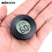 Portable Mini Digital Temperature Humidity Tester Meter Thermometer Hygrometer LCD Display White/black(China)