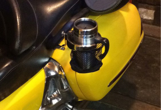 Motorcycle New Rear Passenger Drink Cup Holder For Honda Goldwing 1800 GL1800 ABS 2001-2015 F6B 2013-2015 Drinking Holder Cup 15