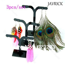 JAVRICK Tree Shaped Acrylic Earrings Display Stand Holder Bracelets Rings Jewelry Storage Accessories DIY Supplies For Women