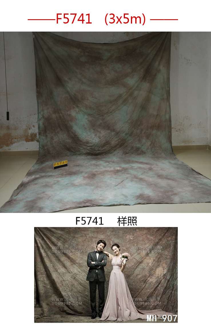 Professional 3m*5m Tye-Die Muslin wedding Backdrop F5741,photography backdrops for family,Kids, Pets, Studio, Custom Service<br>