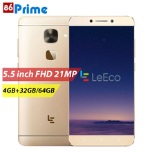 LeEco Le X626 Letv S3 Mobile Phone MTK Helio X20 5.5 Inch FHD Smartphone 4G LTE 4GB 32GB/64GB Le 2 Pro Cellphone Android Phone(China)