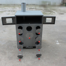 1pc 9 Hole thicken and double layers corn grilled machine charcoal or wood roasted sweet potatoes Oven machine(China)