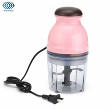 Mini Multifunctional Electric Meat Grinder Food Processor Baby Food Mixing Machine Fruit Vegetable Milk Shake Household 250W(China)