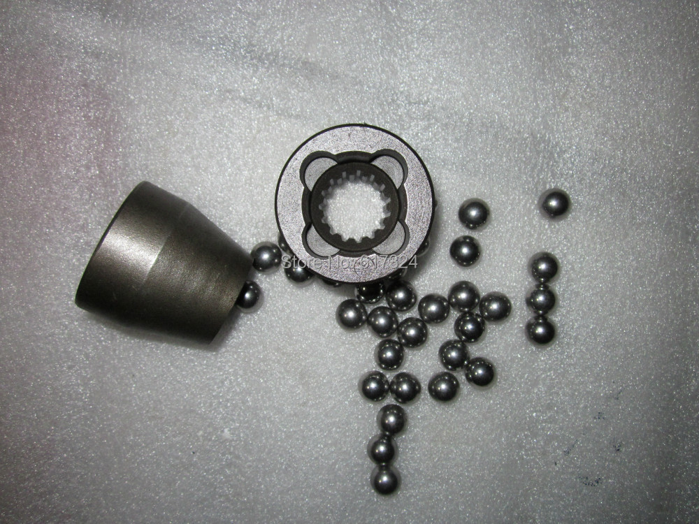 JINMA tractor 304, the coupling with steel ball, part number: 304.42.121<br>