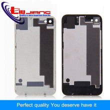 Liujiang New Back Cover Door Rear Panel Plate Glass Housing For iPhone 4 4G 4S Battery Cover Replacement