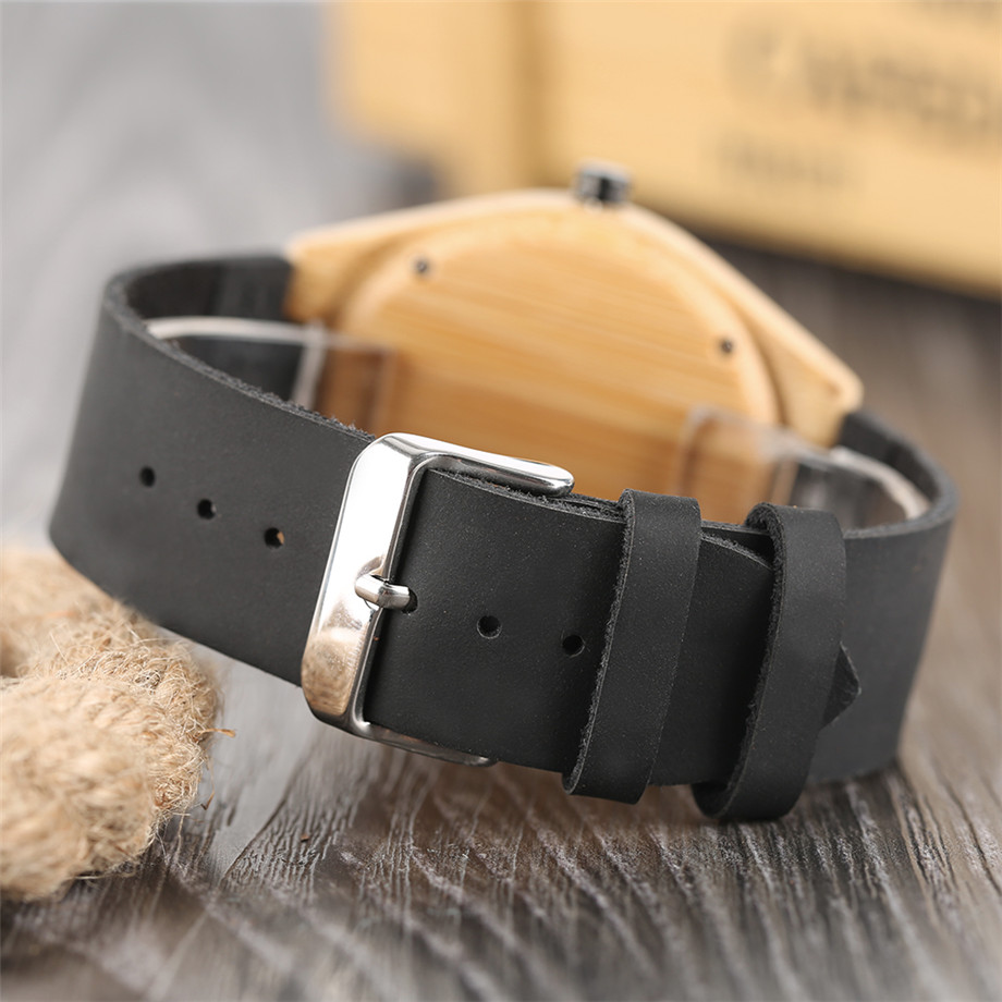 genuine leather band creative watches for men10
