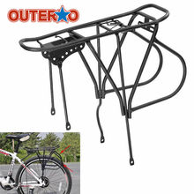40x15x38cm Heavy Duty Alloy Disc Brake Quick Release Bike Rear Rack Carrier Pannier Rack Bicycle Rear Seat Shelf Bracket