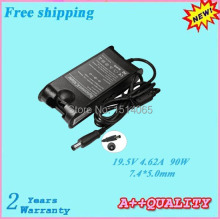 Hot sale For DELL  19.5V 4.62A 90W 7.4*5.0mm Replacement Adapter for Inspiron 300m  500m D610  D620  D800
