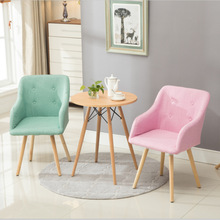 Simple nordic style household office chair modern dining chair hotel cafe leisure chair fashion computer chair furniture supply(China)