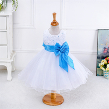 girls summer Pearl Rose pink purple baby dress girls party frocks for kids princess casual dresses age 2 3 4 5 6 7 8 9 10 NQ168