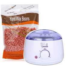 Gustala Warmer Wax Heater SPA Hand Epilator Feet Paraffin 300g Solid/Hard Wax Beans Heater Machine Bock Depilatory Health Care(China)