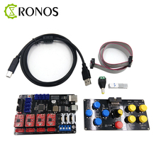 DIY CNC USB controller 4 axis engraver machine control panel laser engraving machine accessory motherboard Free
