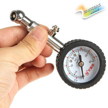 UNIT YD-6025 Accurate Auto Car Tire Pressure Gauge Meter Automobile Tyre Air Pressure Dial Meter Vehicle Tester 0-60 psi(China)