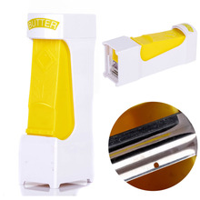 1pcs One Click Butter Cheese Cutter Slices Slicer Squeeze Serves Stores Kitchen Tool