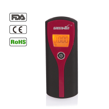 Free Shipping+HotItem 6880S LCD Display Breathalyzer Blood Alcohol Tester(Red)(China)