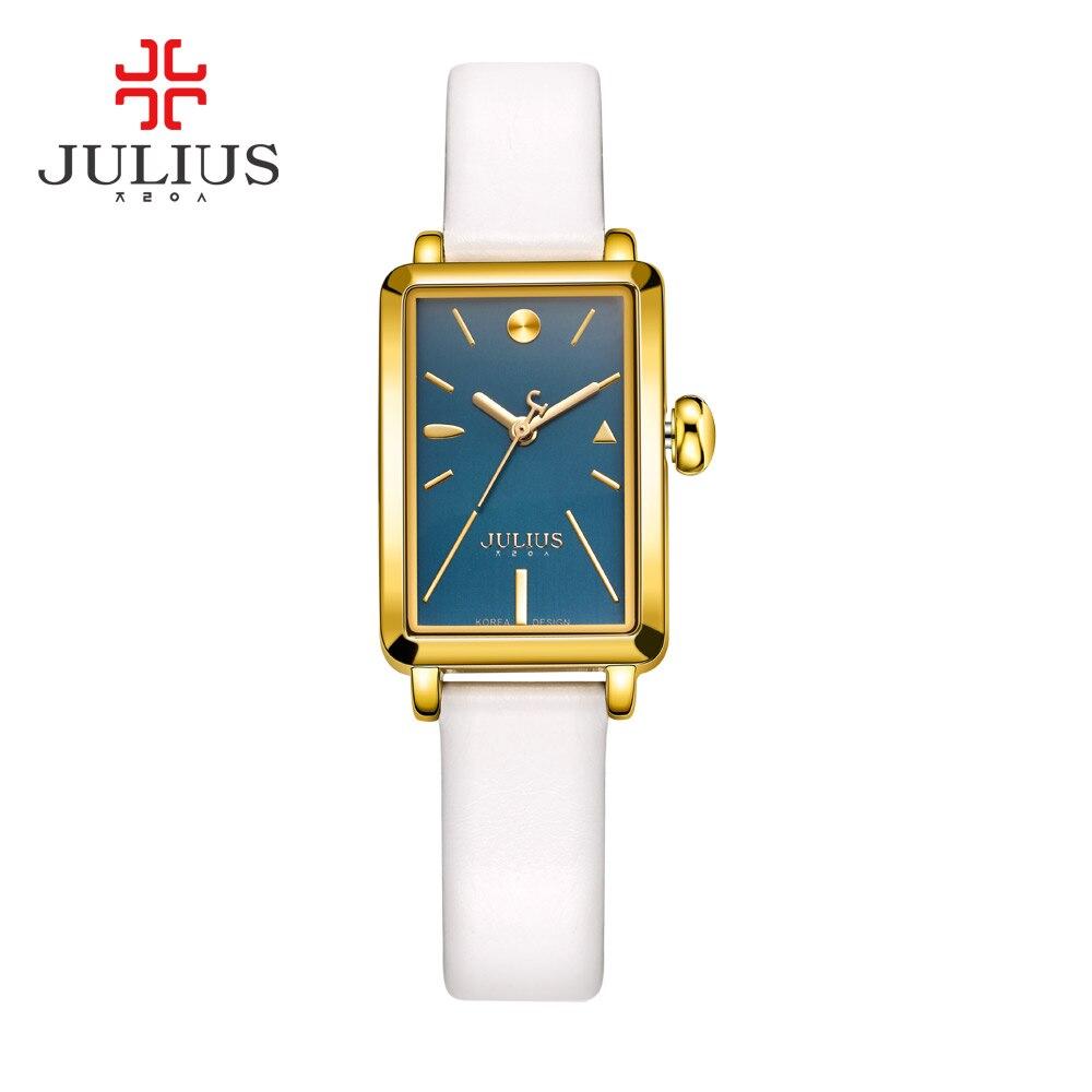 JULIUS Brand Luxury Crystal Gold Watches Women Fashion Bracelet Quartz Watch Shock Waterproof Relogio Feminino Orologio Donna<br>