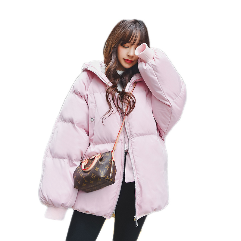 Plus Size 3XL 4XL Winter Jacket Women Oversized Coats Hooded Thicken Short Parka Cotton Padded Jacket Women Winter Coat C3768Îäåæäà è àêñåññóàðû<br><br>