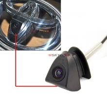 CCD HD Car Front View Logo Parking Reversing Camera For Toyota Prado Highlander Land camry(China)