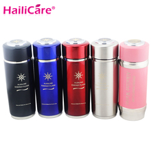 Alkaline Hydrogen Negative Ion Water Ionizer Bottles Energy Nano Flask Cups Water Filter Cup Daily Health Care with Filter 400ml(China)