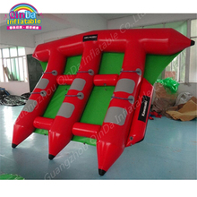 3 Tubes Flying Towables Inflatable Flying Fish Banana Boat For Water Sports, Inflatable Flying Towables Tube Sport Boat(China)