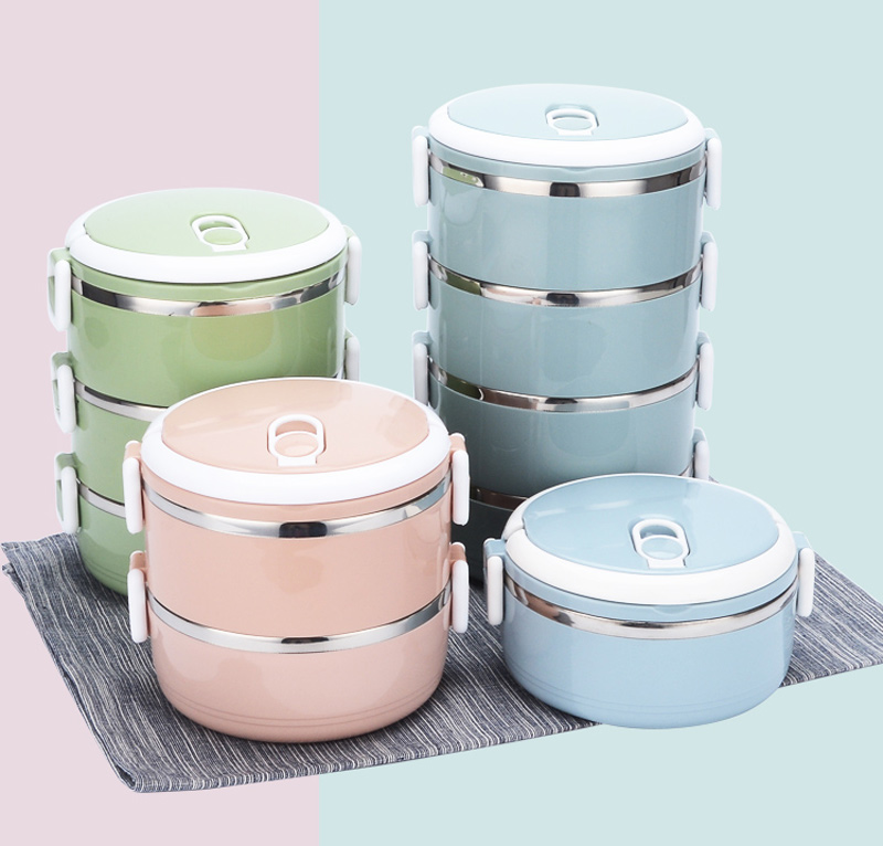4 Layer Portable Stainless Steel Lunch Bento Boxs Japanese Style Fruit Food Storage Container For Kid School Camping Travel Sets16