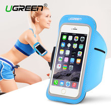 Ugreen Sport Arm band Case for iPhone 6 6s 5 Waterproof Running Phone Case for Samsung Galaxy Huawei Phone Pouch Cover Arm Band(China)