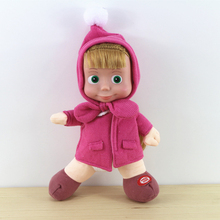 AUTOPS New Arrival Russian Masha And Bear Plush Dolls Baby Children Best Stuffed & Plush Animals Kid Gift