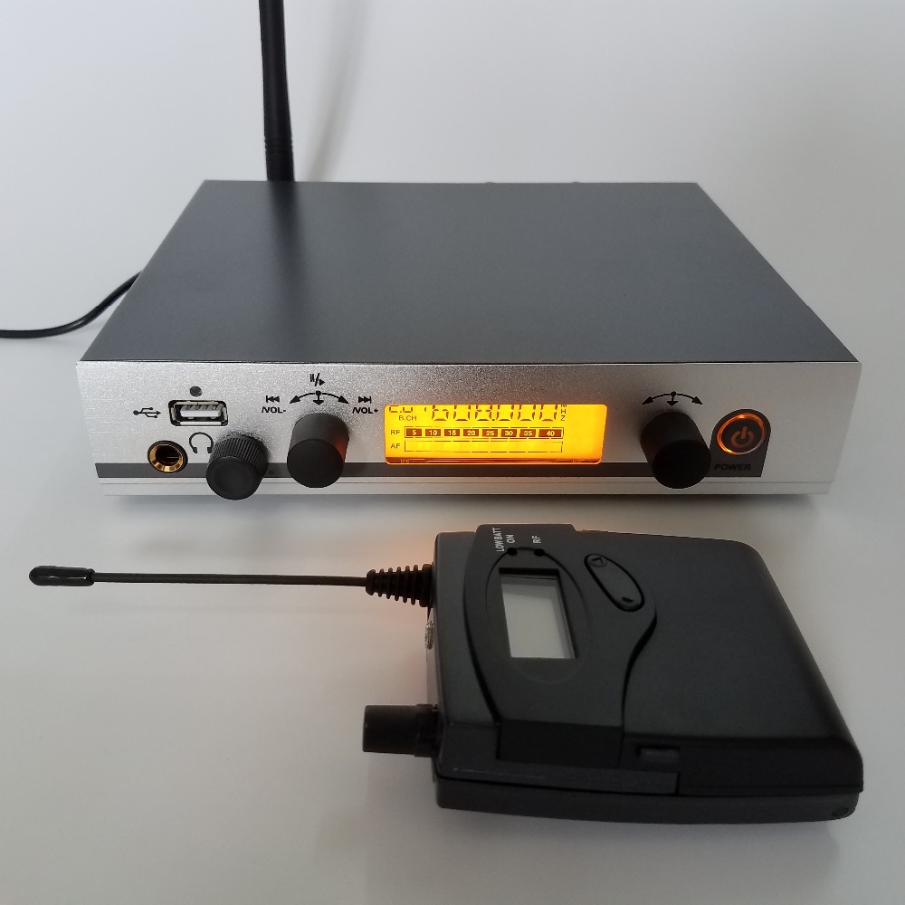 IEM300G3 Professional monitor wireless system DJ Stage Church Stage Monitor Church ear monitoring system for studio recording