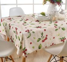 Fyjafon Table Cloth Rectangular Waterproof Oil Proof Tablecloth 100*100CM/145*145CM/130*180CM/140*200CM(China)