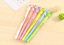 4PCS Lovely sunny doll Gel Pen Kawaii Stationery Canetas Escolar Papelaria Gift Office Material School Supplies