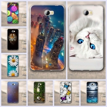 TPU Soft Cases for Huawei Y5 II Y5 2 Back Cover for Fundas Huawei Y5 II Y5 2 Phone Case Capa 3D Relief Silicon Protector Shell