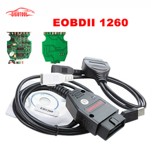 Top Selling FTDI FT232RL Green PCB Galletto 1260 ECU Flasher Programmer Supports Multi-Brand Cars Auto Car Diagnostic Interface
