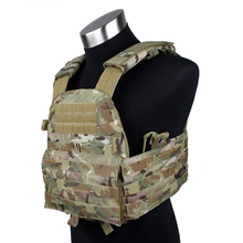 TMC 6094 Plate Carrier Genuine Multicam Material Tactical Vest Hunting Airsoft Game Military Combat  TMC1327 Multicam BK RG OD