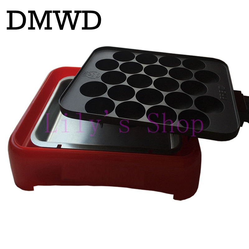 Adjustable temperature electric takoyaki octopus balls machine Takoyaki maker household baking machine 800W 22 holes EU US plug<br>