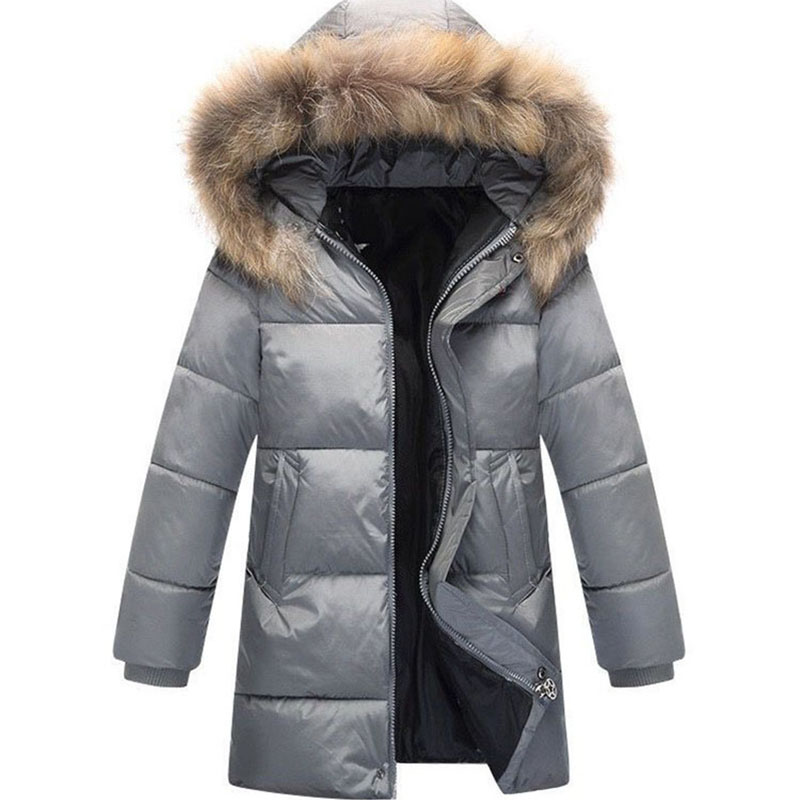 winter jackets for boys 2017 fashion boy thicken fur hooded children padded coats outerwear warm tops clothes big kids clothing <br>