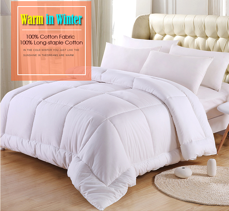 100% Natural Cotton Quilted Comforters 11a