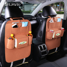 New design Car seat storage bag Hanging bags car seat back bag Car product Multifunction vehicle storage box freeshipping