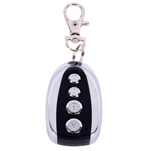 2017 China Supplier 1PC Remote Control Cloning Gate for Garage Door Car Alarm Products Keychain 433 Mhz(China)