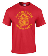 Summer Fashion Funny Print T-shirts Us Marines Sgt Carter Bulldog Graphic Officially Licensed T Shirt