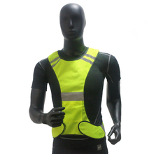 FGHGF High Visibility Reflective Vest Security Equipment Night Work Fluorescent Green Orange New Arrival High Quality(China)