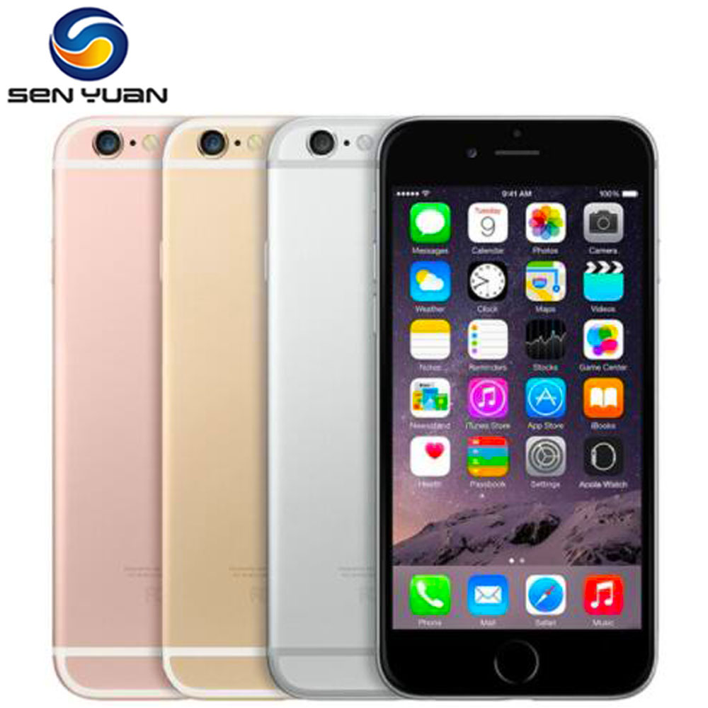 Apple iPhone 6S 16gb 2GB GSM Fingerprint Recognition 12MP Used Unlocked Dual-Core A9 title=
