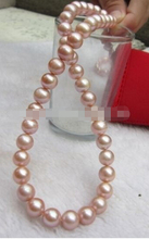 free shipping  >  10-11mm AAA+ south sea Cultured Pearl Necklace 17inch