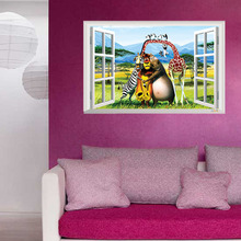 3D Wall Stickers Children Decorative Posters Decorative Mural Decorative Art Living Bedroom Home Decorative Accessories TTL035(China)