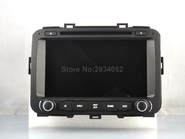S190 Android 7.1 car dvd gps For KIA CARENS 2013-2015 Car Audio player navigation head unit device BT WIFI 3G