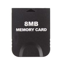 Black High quality Generic 8MB/16MB/32MB GC Memory Card for Nintendo Wii GameCube #78621