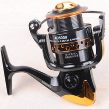 90%OFF 2017 New German Technology 12+1 BB Bearing Balls 2000-9000 Spinning Reel Hot Sale for Hynix Feeder Fishing reel pesca(China)