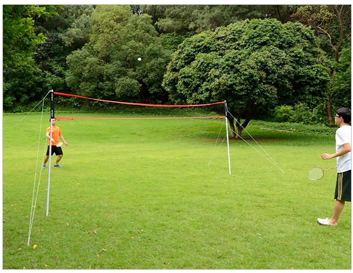 HTB1f 9ahzuhSKJjSspmq6AQDpXaH - Sports 2 in 1 recreational badminto and volleyball combo set :net poles,ball,rackets &shuttlecock -portable euqipment for lawn