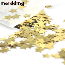MEIDDING 1000pcs Sparkling Cinfetti Star Hollow Heart Wedding Decor Birthday Party Confetti Table Balloon Decor Party Supplies(China)