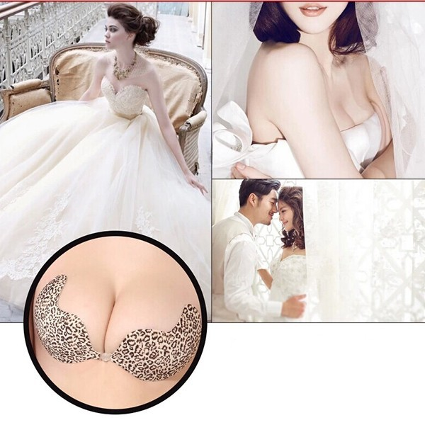 SILVERCELL Padded Backless Push Up Invisible Bra ABCD Breast Pads Women Silicone Self Adhesive Bust Bra Intimates Accessories 8