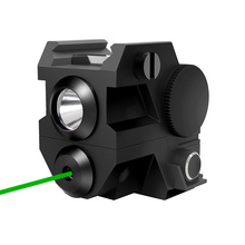 Tactical Hunting Green Dot Laser LED Flashlight Mini Pistol Sights Accessories Handgun Rifle Hunting Weapons 20mm Rails Mount